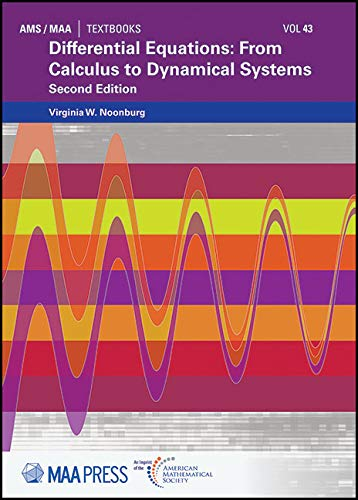 Differential Equations (Ams/Maa Textbooks, Band 43)