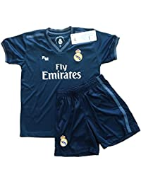 cee80cd7efa06 Real Madrid FC Kit Infantil Replica Segunda Equipación 2018 2019 (10 ...