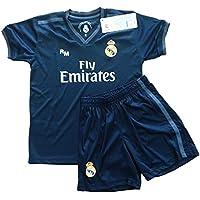 Real Madrid FC Kit Infantil Replica Segunda Equipación 2018 2019 (10 ... 090cd7b060e