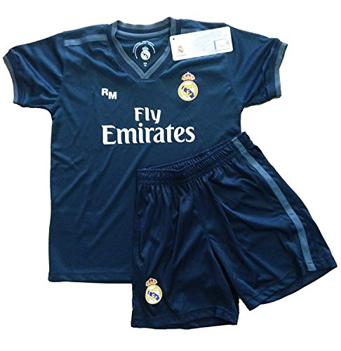 Real Madrid FC Kit Infantil Replica Segunda Equipación