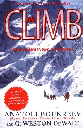 The Climb: Tragic Ambitions on Everest por Anatoli Boukreev