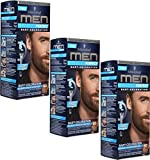 3x Schwarzkopf MEN PERFECT Bart-Coloration, 60 Natur Braun