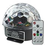 Disco Lichteffekte, LED Discokugel mit Fernbedienung, DJ Bühnenbeleuchtung...
