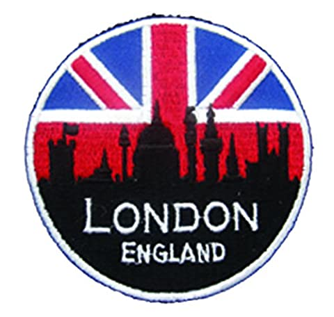 Patchs-London UK Angleterre Union Jack England & à l'expédition GRATUITE !