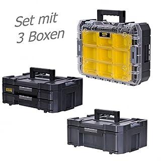 STANLEY FATMAX TSTAK Box III + Box IV + Box V 3 Werkzeugboxen