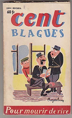 CENT BLAGUES # 33 1954 Roger SAM Frederic DARD par Frederic DARD