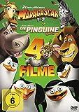 Madagascar 1-3 + Die Pinguine aus Madagascar [4 DVDs]
