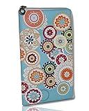 Soft Case Handy Tasche mit Reißverschluss für Samsung Galaxy S7 Edge - S6 Edge - Note 4 - Note Edge - Huawei P9 Plus - Schutzhülle Spring XL
