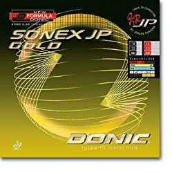 Donic Sonex JP Gold Table Tennis Rubber -Black
