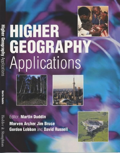 Higher Geography Applications