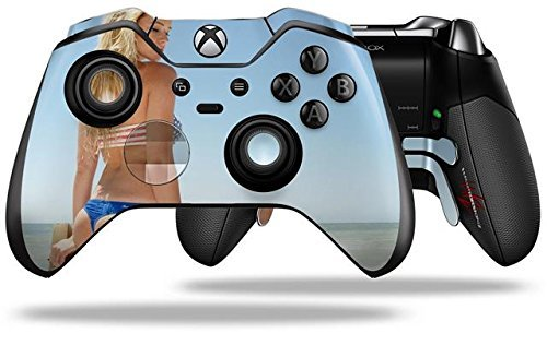 Kayla DeLancey All American Girl 62 - Decal Style Skin fits Microsoft XBOX One ELITE Wireless Controller by WraptorSkinz
