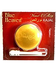 NEW *NOOR UL AIN* Blue Heaven Indian Kajal 2.5g Pot Black Kohl Eyeliner