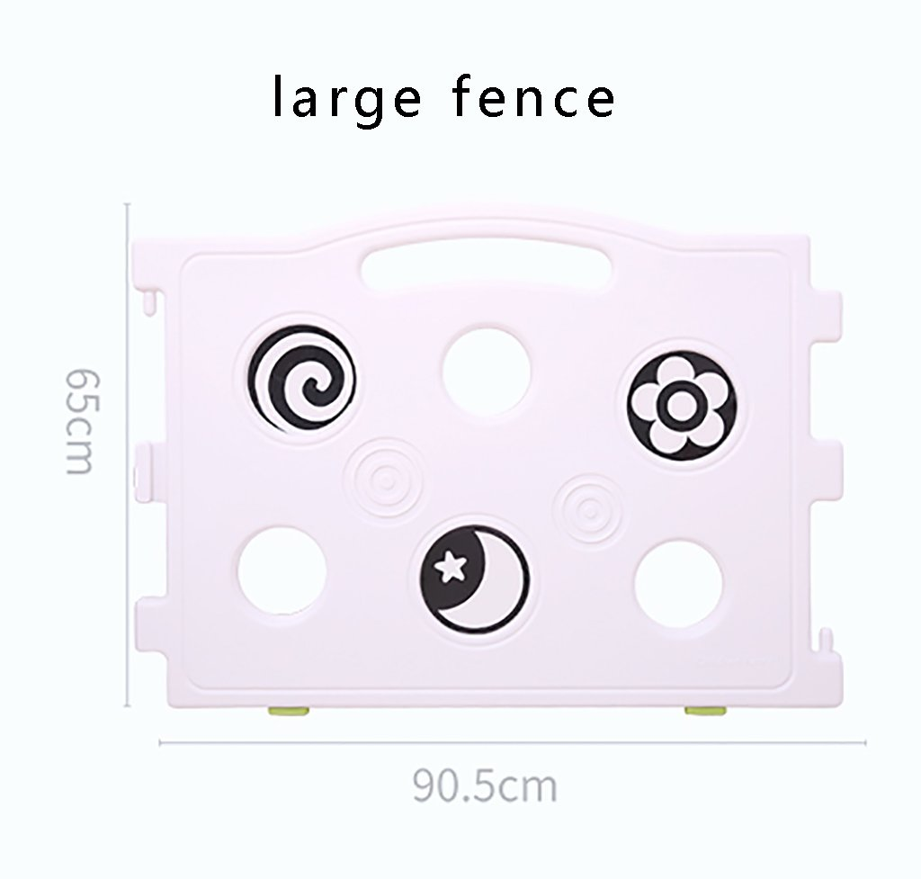 Fence Child Game Indoor Amusement Park Baby Crawling Mat Baby Household Toddler Safety Fence Toy Fence (Size : Style2 (182 * 150cm))  ZCJB