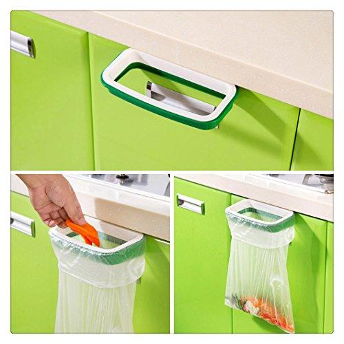 Ularma Colgante estante de bolsas de basura de cocina alacena mueble soporte