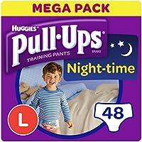 Huggies pull-ups de la noche tiempo–pantalones de entrenamiento para el orinal para niños, grande