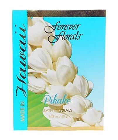 Hawaiian Bath Crystals Forever Florals Pikake 12 Pack by Forever Florals (Hawaiian Bath Crystals)