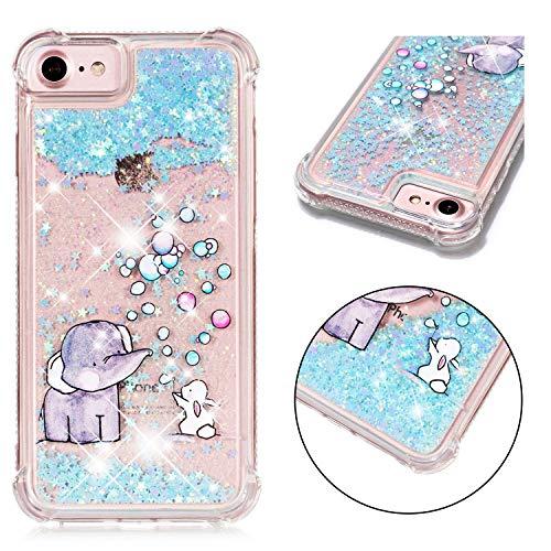 E-mandala cover custodia apple iphone 5 5s seglitter liquido brillantini silicone gommamorbidabumpercase trasparentecondisegniantiurto