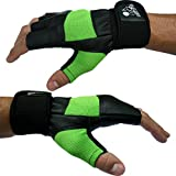 "Weight Lifting Gloves With 12"" Wrist Support For Gym for sale  Delivered anywhere in Ireland"