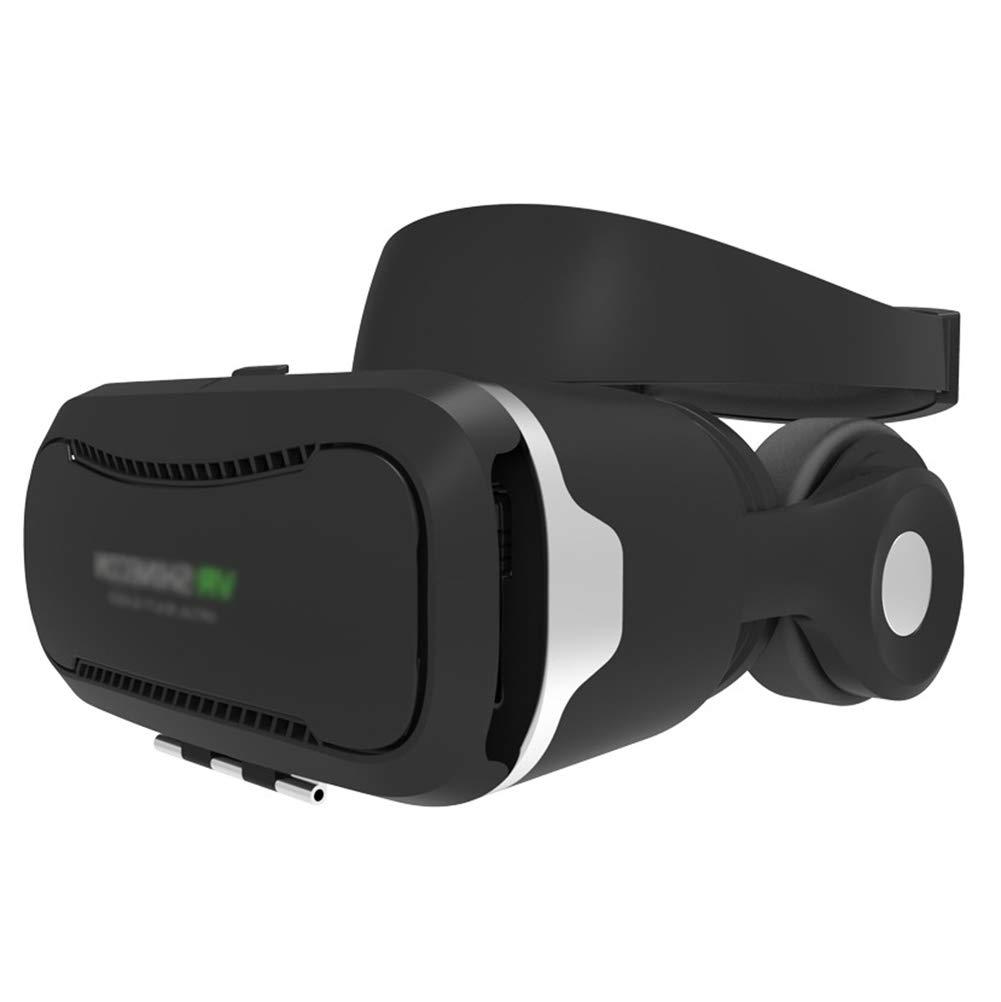 AUHRE Réalité Virtuelle VR 3D des Lunettes Casque Écouteurs Compatible iPhone X /8/8 Plus/7/7plus/6s/ 6 Plus, Samsung S7/S7 bord/S6/S6 bord/S5/S4/S3, HTC, Huawei, OnePlus, Sony, Oppo