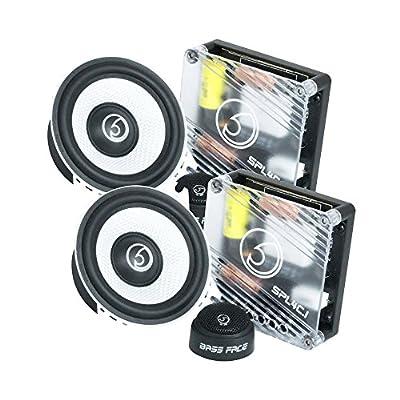 Bass Face SPL4C.1 600W 4 inch 10cm Component Car Speaker Set
