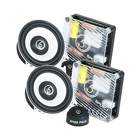 Bass Face SPL4C.1 600W 4 inch 10cm Component Car Speaker (Bass Van)
