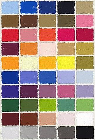 Mount Vision Soft Pastel : Set of 50 : Workshop Selection