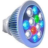 Roleadro Led Lámpara de Acuario 12w E27 Bombilla Led Aquarium Luz Para Acuarios Pescado Coral Arrecife Plantas