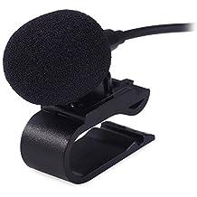 3.5mm microfono esterno mic per auto radio portatile stereo lettore DVD Headunit cavo 3m