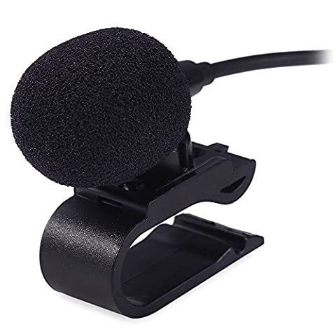 3.5mm External Microphone Mic for Car DVD Radio Laptop Stereo