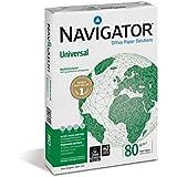 Navigator 0484UN Carta Universal, A3, 80 G/Mq, 110 µm, Confezione da 5