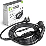 Easy EV Type 2 Tethered Cable IEC62196 32 Amp EV OneStop Simple 5//10 Metre | Affordable 10 Metre 7.2kW