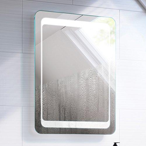 700 x 500 mm Illuminated LED Bathroom Mirror Light with Sensor + Demister ML2111