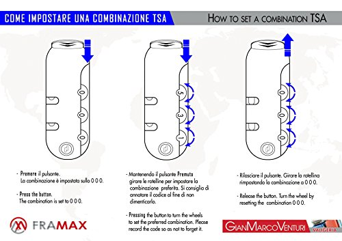 SET 3 TROLLEY VALIGIA TESSUTO CON BAGAGLIO A MANO CABINA GianMarcoVenturi FMXD006ST_(Nero)