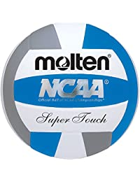 Molten Women's NCAA Super Touch Volleyball (Royal/Silver/White, Official)