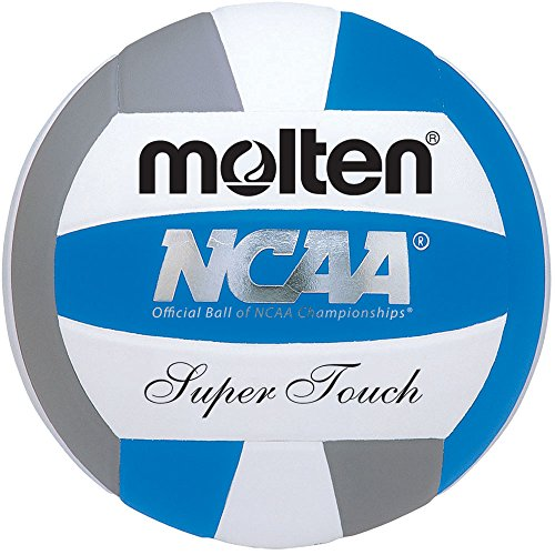 Molten Women's NCAA Super Touch Volleyball (Royal/Silver/White, Official) (Silver Womens-volleyball)