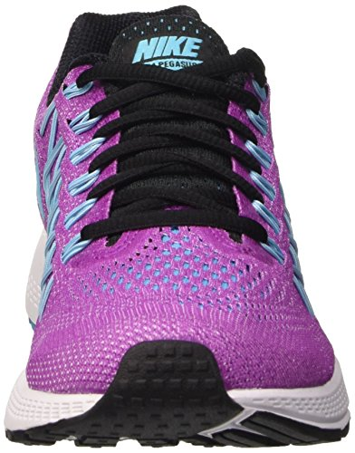 Nike Wmns Air Zoom Pegasus 32, Gymnastique femme Violet - Viola (Hyper Violet/Gmm Bl/White/Blk)