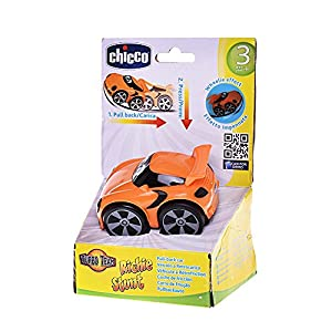 Chicco - Coche Turbo Touch Stunt Car, Richie Road, Color Naranja