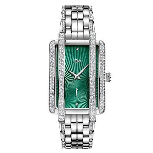 JBW Mink Donna Diamante Bracciale Acciaio Inossidabile Quarzo Watches j6358a