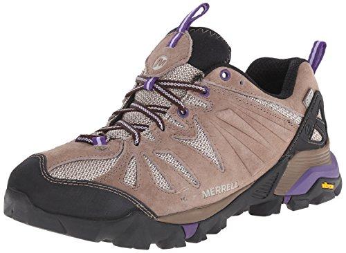 Sapato Impermeável Caminhadas Capra Taupe Merrell wZ7PXOqxa
