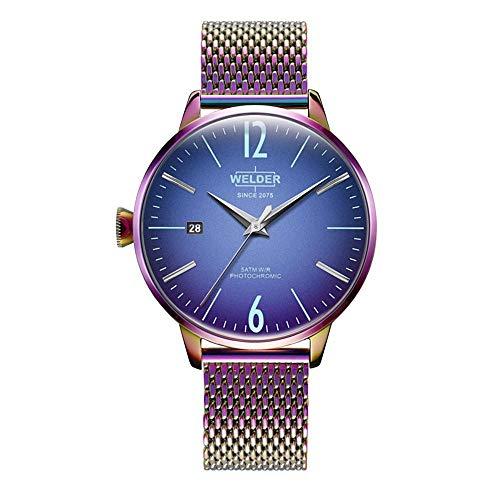 Reloj Welder WRC645 Smoothy Mujer Azul Acero