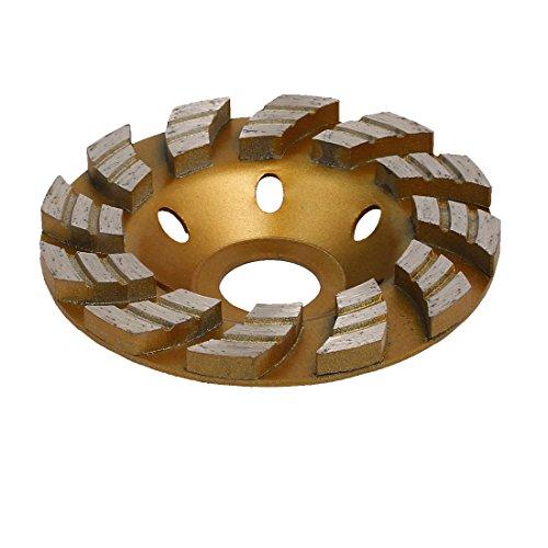 en Trennscheibe Kappe Rad Gold Ton 100mm Außendurchmesser 12 Zähne de ()