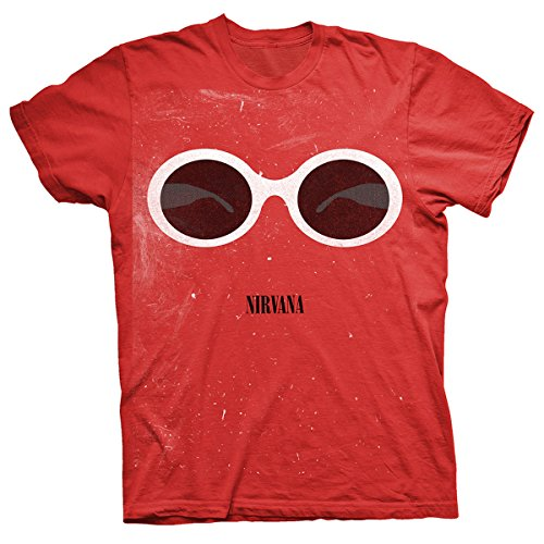 nirvana-sunglasses-t-shirt-red-xl
