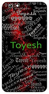 Toyesh (Lord Of Water) Name & Sign Printed All over customize & Personalized!! Protective back cover for your Smart Phone : Samsung Galaxy S5mini / G800