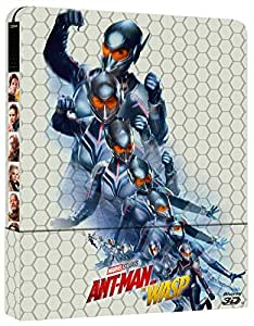 Ant-Man And the Wasp 3D Steelbook  (2 Blu Ray)