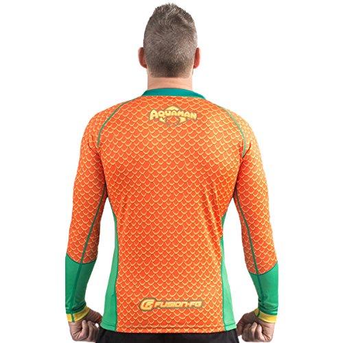 Fusion-Fight-Gear-Aquaman-Costume-Adult-Compression-Shirt-BJJ-Rash-Guard