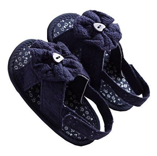 Weiche Blume Weiß Für Schuhe Babyschuhe Mädchen Violett Sandale Baby Acmede 11cm anqxHEE