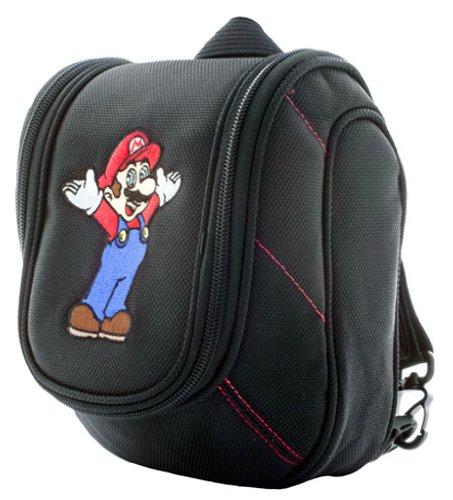 Nintendo DS Lite / DSi  / DSi XL / new 3DS /3DS / 3DS XL - Mario Mini-Rucksack 3DS911 (farblich sortiert) (Nintendo Ds Lite Mario Spiele)
