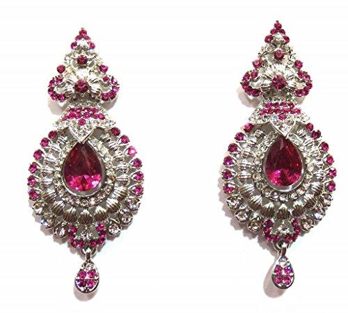 Jewelshingar Schmuck Zirkonia Ohrringe für Damen (10625 Schneeschaufel-Blatt aus-ez-rani-ro)