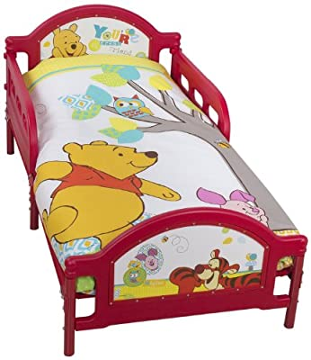 Character World Disney - Cama infantil, diseño de Winnie the Pooh