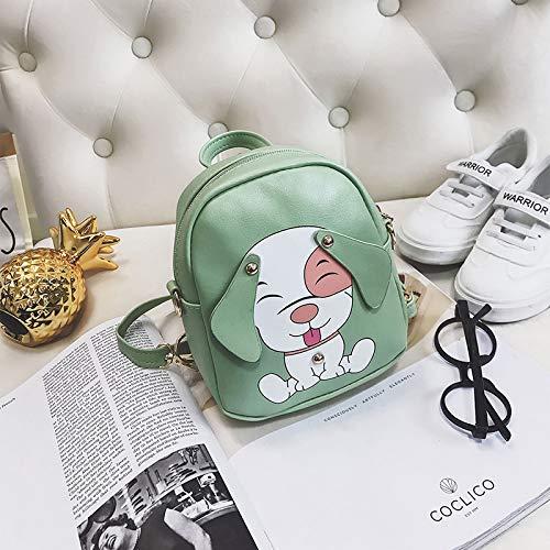 Studententasche, Kindermode Vielseitige Schultertasche Mini Schultertasche Süße Cartoon Weibliche Tasche Hohe Kapazität, Sollte Jedes Kind Es Haben grün -